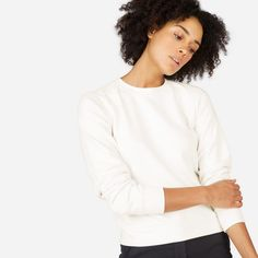 The Slim Classic French Terry Crew - Everlane