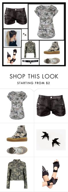 """""""Christine 1"""" by lilimon236 ❤ liked on Polyvore featuring beauty, IRO, Ruco Line, Boohoo, Leg Avenue and Fallon"""