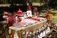 Little Red Riding Hood Dessert Table
