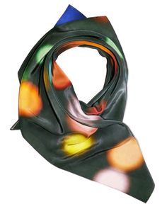 Merging technology and handcraft, designer Bradley L. Bowers unveiled a collection of contemporary scarves inspired by constellations.
