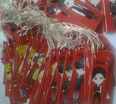 Bookmarks Giveaway for Gath 4th INFINITE [InspiritBandung ♡♥]