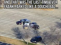 Don't Park Like A Douchebag