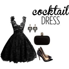 LBD Modern Audrey by iris-belle on Polyvore featuring Gianvito Rossi, Alexander McQueen, Lulu Frost and...
