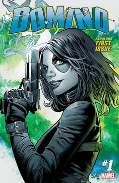 Domino #1 Cover By Greg Land