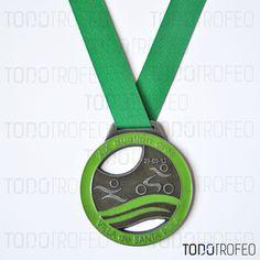 MEDALLA DUATLÓN DE SANTA POLA 2014.   Diseñamos las medallas para su evento deportivo. Pide su presupuesto a través de: todotrofeo@todotrofeo.com    SANTA POLA DUATHLON MEDAL 2013.  We design your sport event medals. Request your budget in: todotrofeo@todotrofeo.com