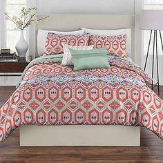 Rhapsody Gypsy Reversible Comforter Set
