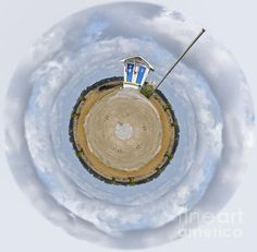 Pump Station Wee Planet by Paulette B Wright