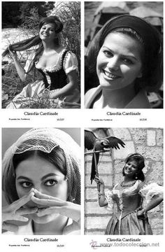 CLAUDIA CARDINALE - Film star Pin Up - Publisher Swiftsure Postcards 2000 SET 357-60 - Foto 1