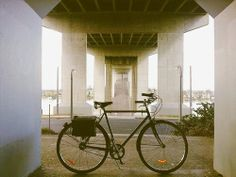 Michael Kennedy van Damme snapped this photo of his Linus Bike while riding to visit family in Sydney, Australia.