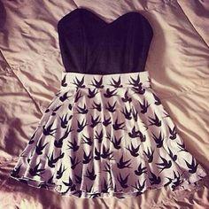 H&M - H&M Bird Skirt from Holly's closet on Poshmark