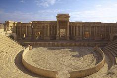 Le Théatre , Palmyre, Syrie