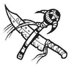 Blackfoot Indian Designs Symbols