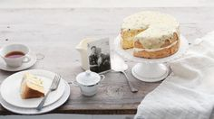 Heirloom recipe: Sponge cake with passionfruit icing. This recipe is from a 91yr old Aussie bloke called Bill Bevan who bakes it regularly to take to his Community Men's Shed for morning tea.