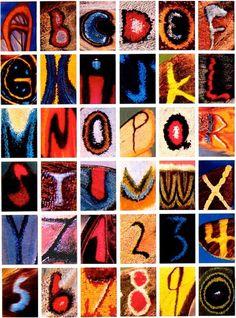 ALLPE Medio Ambiente Blog Medioambiente.org : El alfabeto de las mariposas