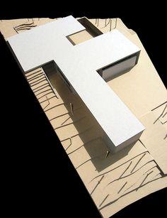 Image 8 of 18 from gallery of Casa En Los Conejos II / La Mirateca. Photograph by Patricia Forcen Scheu Door Organizer, Roof Covering, Spanish House, Little Boxes, Interior Exterior, Atrium, Windows And Doors, Outdoor Spaces, Corner Desk