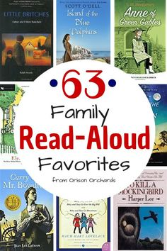 Reading aloud to your children is the single best way to influence them for good. But you need the best read aloud books! Here are 63 favorites from our home, Orison Orchards, to yours. They will delight both boys and girls of all ages! Kids Reading, Reading Aloud, Reading Lists, Reading Help, Read Aloud Books, Good Books, Big Books, Books For Boys, Childrens Books