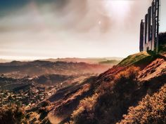 Hollywood Sign as It Was Never Seen Before by Ted VanCleave 3