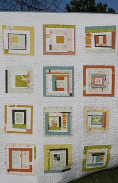 I need to make an improv quilt like this.