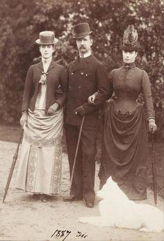 Victorian fashion 1887