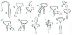 Different Tie Knots for Men to Be More Handsome