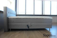 Mooie boxsprings bij www.slapenonline.nl #boxsprings #marjolijn #inspiratie #slaapkamer