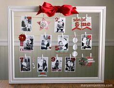 Santa and Me frame pic – Scrap Booking