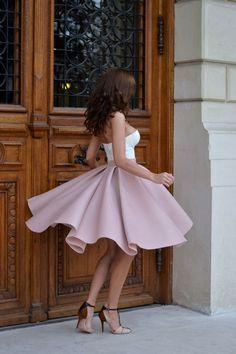 Chiffon transvestite wardrobe