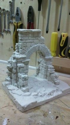 Discover thousands of images about Roby cik Christmas Village Display, Christmas Villages, Christmas Nativity, Christmas Crafts, Christmas Decorations, Christmas Printables, Putz Houses, Fairy Houses, Warhammer Terrain