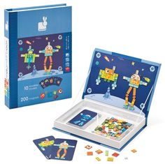 Magnetibook kids game on Cool Mom Picks - big fans of magnets for car play. BIG fans!
