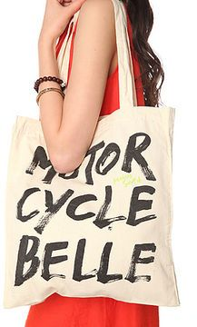 ShopStyle: Maison Scotch The Moto Belle Canvas Tote