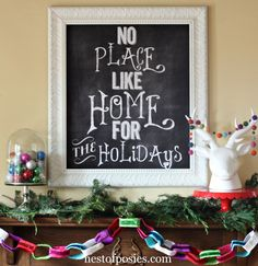 Chalkboard graphic into a poster size for less than 5 dollars