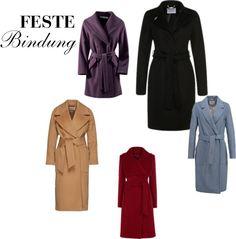 Zieht euch warm an - Feste Bindung / / Dress warm - Solid Tie  Woollen coats / Wollmäntel