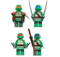 Minifiguras Lego de las Tortugas Ninja