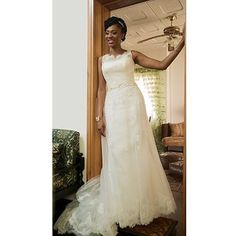 Gorgeous wedding dress.pic via @lovetims #welove #instabride #whitewedding #lovelyweddingdress