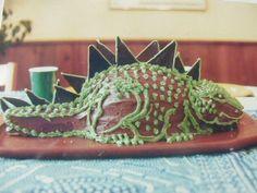 Different lizard cake Lizard Cake, Birthday, Board, Desserts, Ideas, Tailgate Desserts, Birthdays, Deserts, Postres