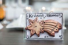 KRÁSNÉ VÁNOCE-VÁNOČNÍ KOMETA Air Dry Clay, Place Cards, Place Card Holders, Desserts, Czech Republic, Food, Xmas, Tailgate Desserts, Deserts