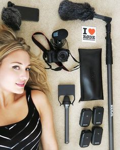 WEBSTA @ thenaomikyle - I like to surround myself with only the best. Especially when it comes to studio and live recording. Happy to be representing and kicking butt with #RodeMics. :) #VideoMicPro #FilmmakerKit #Rode