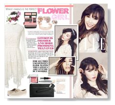 """Tiffany Hwang #3"" by daebutt ❤ liked on Polyvore featuring twenty2, Bobbi Brown Cosmetics, Lover, Rock 'N Rose, GUESS, Leith, Keds, ELLE, Tiffany and Snsd"