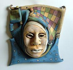 Ceramic sculpture . Bronze sculpture. Inna Olshansky . Art . Israel | Masks