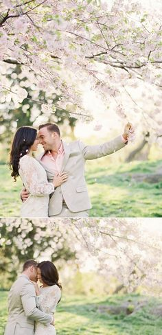 Cherry blossom e-session