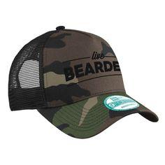 Live Bearded Camo Hat