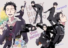 Yuuri Katsuki, Yuri On Ice, Anime Guys, History, Artist, Anime Boys, Historia, Artists, Amen