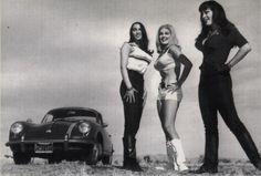 Production Still from Russ Meyer's Cult Film, Faster Pussycat! Kill! Kill! from 1965