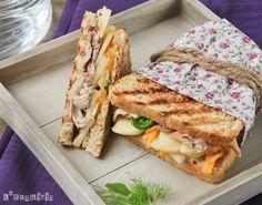 Sandwich de pollo, hinojo y manzana | L'Exquisit