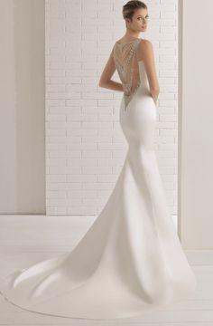 Featured Wedding Dress: Aire Barcelona; www.airebarcelona.com; Wedding dress idea.