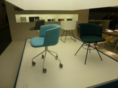 Cut chairs by Lapalma