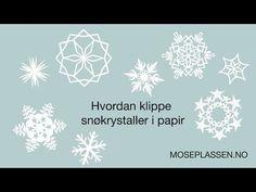 Papirklipp-DIY: La det snø!