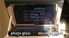 How To Build A Teleprompter + Tips - DIY Photography