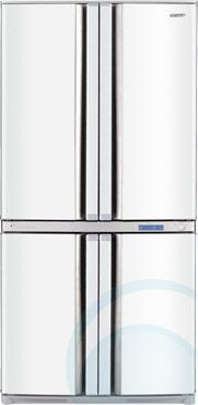 sharp fridge 4 doors. enjoy legendary service when you buy the sharp french door fridge from appliances online! free metro delivery available. 4 doors