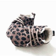 Tiger lily booties - little indians